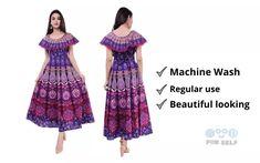 Top10 popular design long frock for women in india 2021 Kurti Skirt, Design Net, Fast Fashion, Womens Fashion, Frock For Women, Long Frock, Frock Design, Ankle Length, Frocks