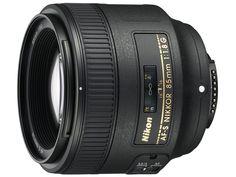 AF-S NIKKOR 85mm f/1.8G ¥42,753 350g