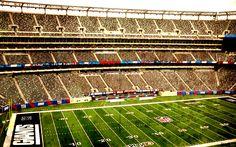 Giants Stadium, in New York