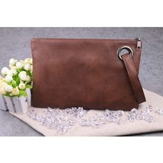 Daunavia famous brand women's handbags clutch female top luxury leather handbag for girls designer summer bags wristle small bag Best Leather Wallet, Leather Clutch, Leather Purses, Leather Handbags, Leather Bag, Crochet Clutch Bags, Clutches For Women, Minimalist Bag, Envelope Clutch