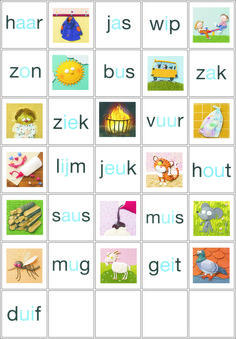 2e deel memoryspel van de nieuwe VLL (versie Kim) Nu is het spel compleet. Speech Language Therapy, Speech And Language, Learn Dutch, Dutch Language, School Info, Educational Crafts, Creative Teaching, Learn To Read, Primary School