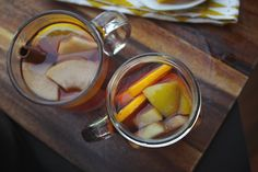 BOOZY/FRUITY MULLED CIDER  - this will be made this holiday season.