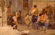 La hora del almuerzo – 1903