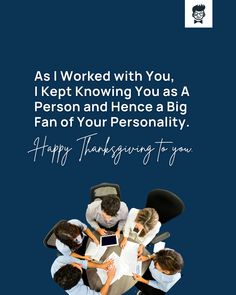 51+ Brilliant Thanksgiving Messages to Co-workers