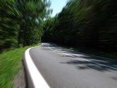 Straße, Geschwindigkeit, Nebenstraße, Landstraße, Wald