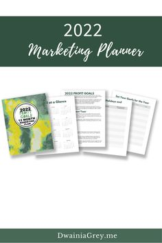 Not sure what to promote? Want to add timely sales to your marketing but not sure how?Buy the easy to use 2022 Profit Goals: 12 Month Marketing Planner.The 2022 Profit Goals: 12 Month Marketing Plan step-by-step marketing planner is for any Empowerpreneur (author, public speaker, coach, creator, blogger – any small business owner). Marketing Plan, Marketing And Advertising, Online Marketing, Social Media Marketing, Digital Marketing, Planning And Organizing, Blog Planner, 12 Months, Public