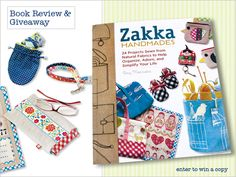 Zakka Handmades Book Review & Giveaway | Sew4Home