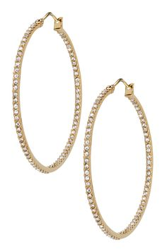 Stella & Dot Gold Adelaide Hoops