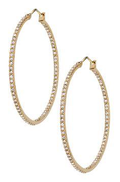 Stella & Dot Gold Adelaide Hoops