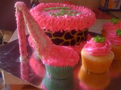 High Heel Cupcake!