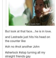 Don't ship Johnlock or Anderlock (have no idea if this is what the ship is called) but ERMERGERSH LOL!!!