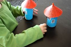 Moomin Houses - Things to Make and Do, Crafts and Activities for Kids - The Crafty Crow K Crafts, Crafts To Do, Crafts For Kids, Arts And Crafts, Paper Crafts, Moomin House, Roll House, Kindergarten, Craft Corner