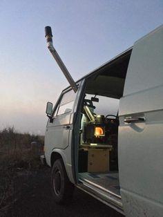 Camping Box, Backyard Camping, Truck Camping, Van Camping, Beach Camping, Build A Camper Van, Camper Van Life, Popup Camper, Bus Camper