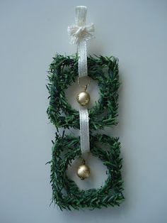 Madame Petite: Kerst-Workshopje: Deur of wandhanger