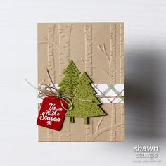 Peaceful Pines Stamp Set                                                                                                                                                      More