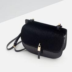MOCK CROC MESSENGER BAG-View all-Bags-WOMAN | ZARA United States