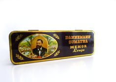 Vintage Cigar Tin Box
