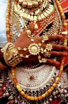 Africa. Details of jewellery, Afar woman.  Tadjoura, Djibouti. © Silvain Savolainen. by ginger