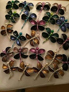 So werden aus Nespresso-Kapseln dekorative Schmetterlinge!