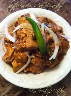 Adobong Tokwa sa Gata - Mely's kitchen