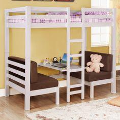 Coaster Fine Furniture Convertible Loft Bed - Home Furniture Showroom