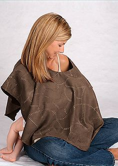 """SheKnows.com recommends our Nursing Shawl as a """"Top 10 Must-Have for Pregnant Travel!""""  """"...A shawl can also double as a blanket or as a pillow (when rolled up) -- as well as a nursing cover-up once your baby is born."""""""