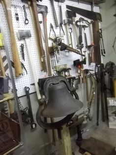 Dinner Bell and more vintage tools