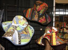 A Linda Tidwell Design - 100% cotton African print quilted flop hats