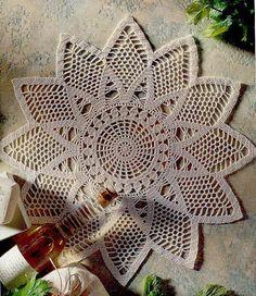 Crochet sun mat