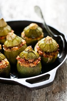 ☂ healthy eating and drinking Health is wealth. Provencal Petits Farcis by tartelette, via Flickr