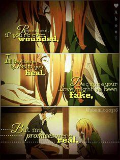 anime quotes | orange anime | anime feels