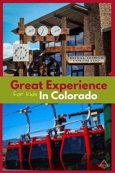 The Royal Gorge is a great family attraction in Canon City, Colorado which makes a great day trip from Colorado Springs.