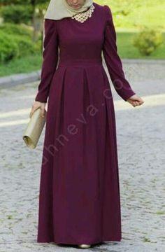 Hijab Evening Dress, Hijab Dress Party, Hijab Style Dress, Abaya Designs, Hijab Outfit, Habits Musulmans, Abaya Mode, Hijab Stile, Muslim Women Fashion