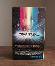 STAR TREK The Motion Picture - BETA ViDEO - Paramount Betamax not/vhs/movie