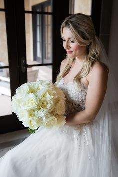 White and Cream Bridal Bouquet The French Bouquet Tulsa, Ok Photos: Picturesque by Amanda