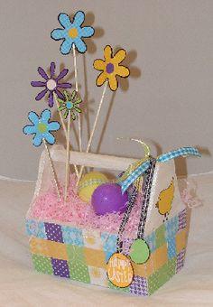 Bloomin' Easter Basket #Reminisce Scrapbook