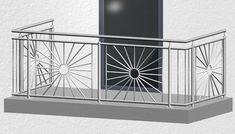 Steel Grill Design, Steel Railing Design, Staircase Railing Design, Window Grill Design Modern, Balcony Grill Design, Balcony Railing Design, Balustrade Inox, Steel Balustrade, Door Gate Design