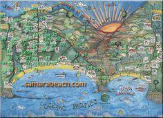 Samara beach, Costa Rica hotels, map and travel info