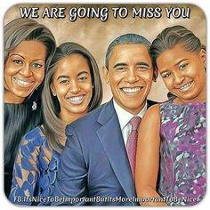 President Barack Obama, First lady Michelle Obama and their daughters Malia and Sasha Black Presidents, American Presidents, Black Love Art, Black Is Beautiful, Beautiful Family, Beautiful People, Beautiful Pictures, Durham, Joe Biden