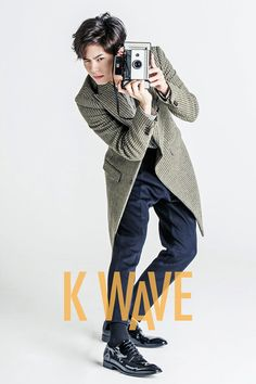 Park Bo Gum in K Wave September 2015 Look 4