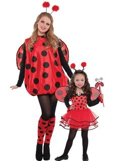 costumes halloween adult ladybug