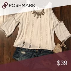 BKE Red Cold Shoulder Top Brand is BKE Red from The Buckle. My absolute favorite Top of all time!! Unfortunately was dried with heat and no longer fits :( Size is Small but will probably fit a petite XS now.  Only got to wear it one time! Perfect condition. ❤️ BKE Tops Blouses