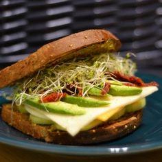 Three Cheese Veggie Sandwich by fastfood2freshfood