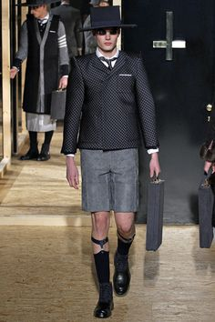 Thom Browne   Fall 2013 Menswear Collection   Style.com