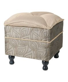 Take a look at this Jennifer Taylor Biltmore Ottoman by ACG Green Group on #zulily today!