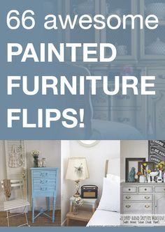 66 awesome painted furniture flips!