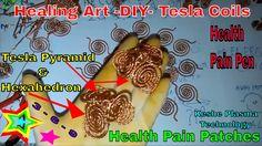 Healing Art -DIY- Tesla Coils & Health Pain Patches - Tesla Pyramid & He...