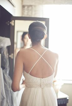 White and Gold Wedding. Bridesmaid Hair. Brides: The Best Wedding Hairstyles on Pinterest