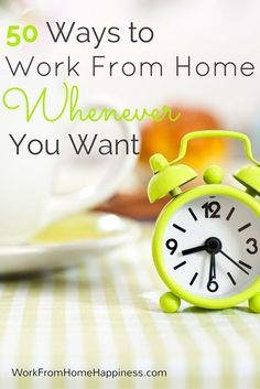 Looking for work from home jobs that fit into your busy schedule? Check out these 50 flexible options that let you work whenever you want!