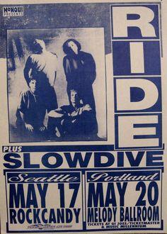 Ride + Slowdive live